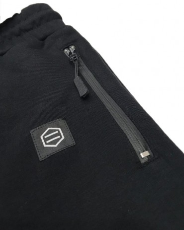 DOLLY NOIRE Logo Sweatpants Black