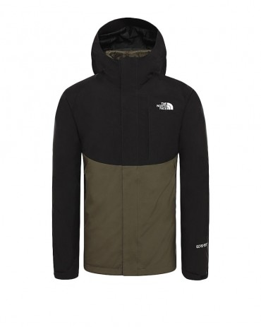THE NORTHFACE - Giacca Mountain Light GORE-TEX Taupe Green Black
