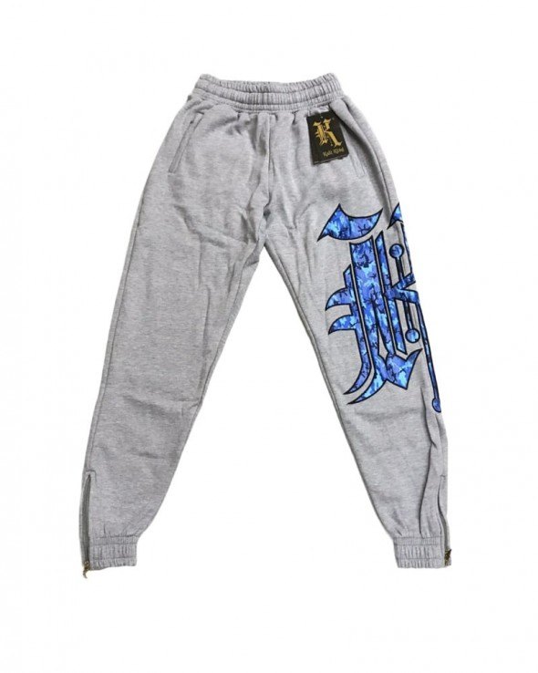 Kali King Tuta Heather Grey Camo Blue