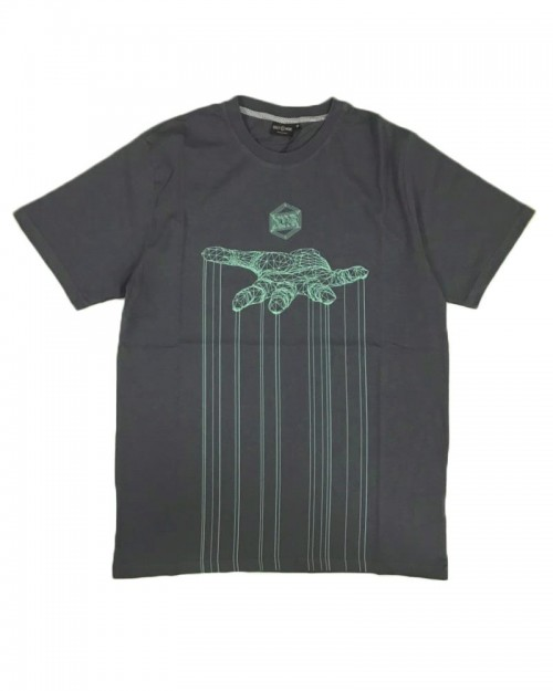 DOLLY NOIRE Control Storm Grey Tee