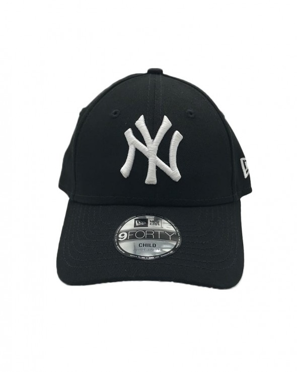 NEW ERA 9FORTY Kids New York Yankees Black