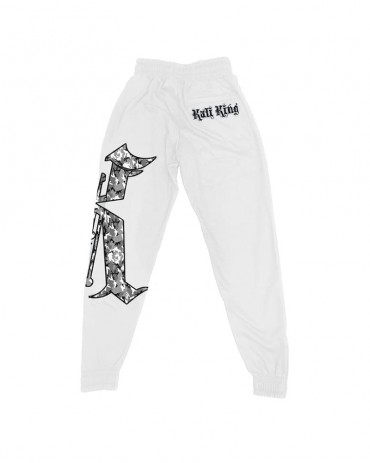 Kali King Tuta White Camo Grey