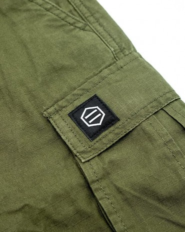 DOLLY NOIRE Shorts Ripstop Green