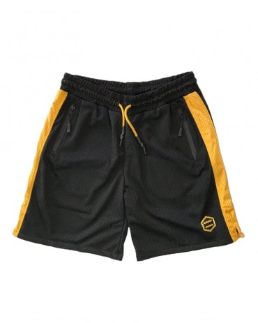 DOLLY NOIRE Dust Active Shorts Black/Yellow