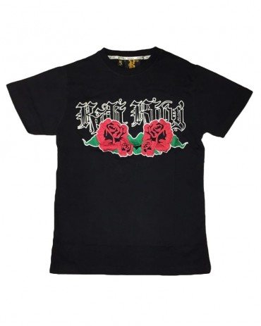 Kali King Roses Tee Black