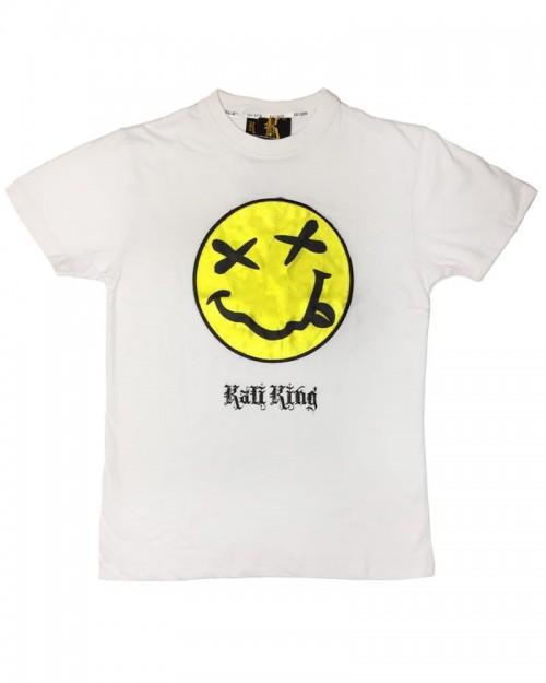 Kali King Tshirt wow Smile White