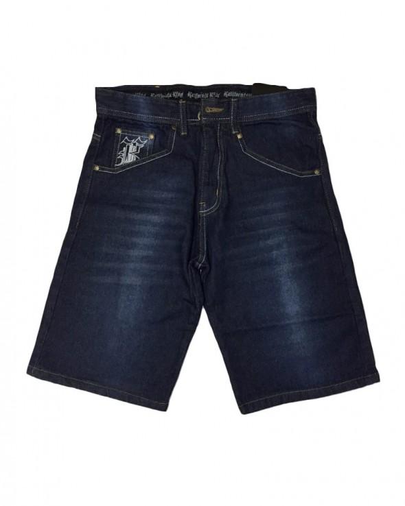 Kali King  Jeans Denim Roses Shorts