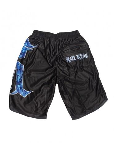 Kali King Pantaloncini Basket K Camo Blue