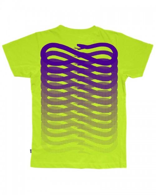 PROPAGANDA Acid-Green Purple TShirt