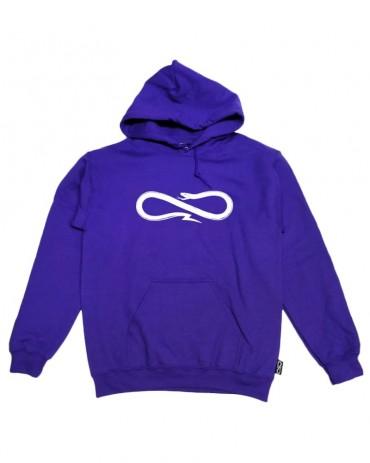 PROPAGANDA Snake Purple Hoodie