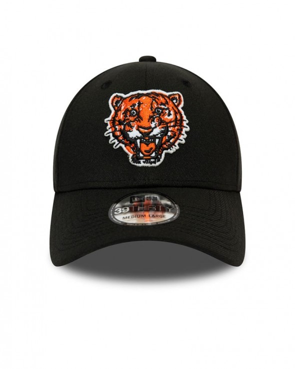 NEW ERA 39THIRTY Detroit Tigers Cooperstown Heritage Black