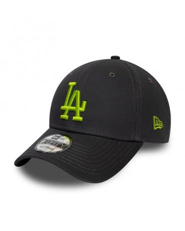 NEW ERA 9FORTY Los Angeles Dodgers Logo League Essential Black