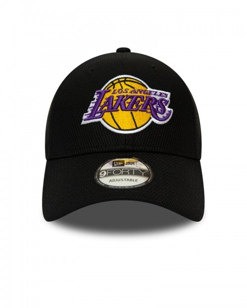 NEW ERA 9FORTY Los Angeles Lakers Black Diamond Era Essentials