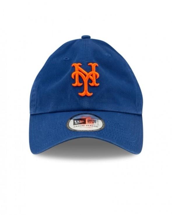 NEW ERA 9TWENTY New York Mets Washed Casual Classic Blue