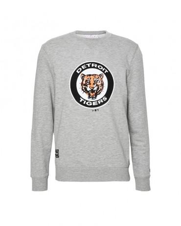 NEW ERA Detroit Tigers Cooperstown Crewneck Black