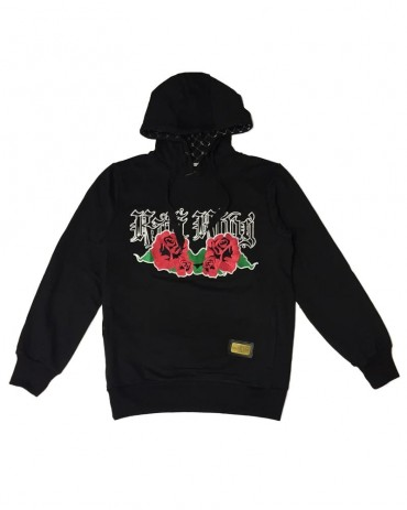 Kali King Felpa Hoodie Roses