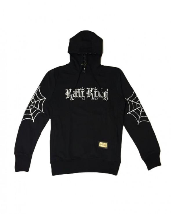 Kali King Felpa Hoodie Elbow Net Black