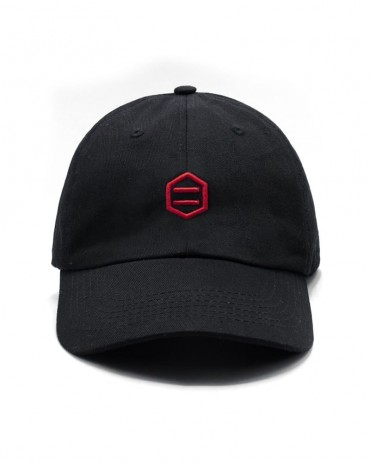 DOLLY NOIRE Black & Red Dad Hat