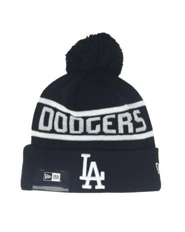NEW ERA Team Jake Bobble Cuff Knit LA Dodgers Black