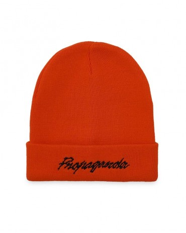 PROPAGANDA Embroidery Beanie Orange
