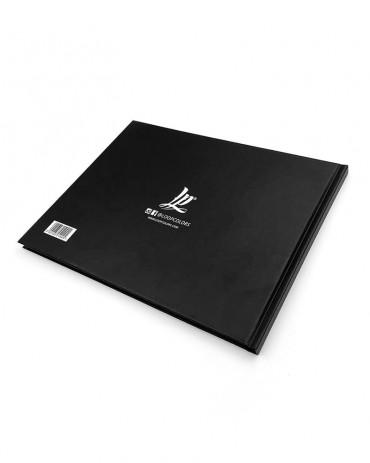 Blackbook A4 Orizzontale Loop Colors