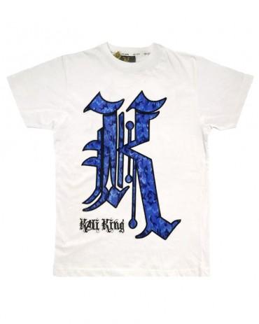Kali King TShirt Blue K