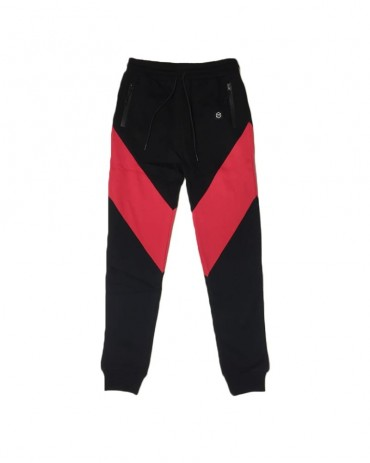 DOLLY NOIRE Victorious Sweatpants Black & Red