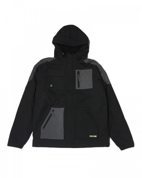DOLLY NOIRE Full Zip Jacket Black