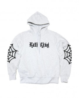 Kali King Felpa Hoodie Elbow Net White