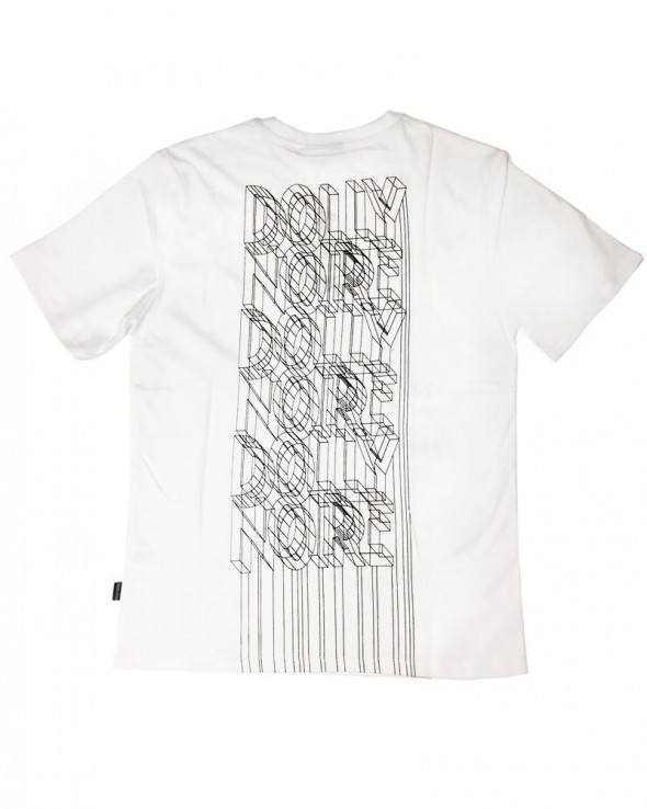 DOLLY NOIRE Wireframe Tee White