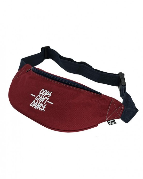 MR. SERIOUS Cops can't dance Vice Bag Maroon Red