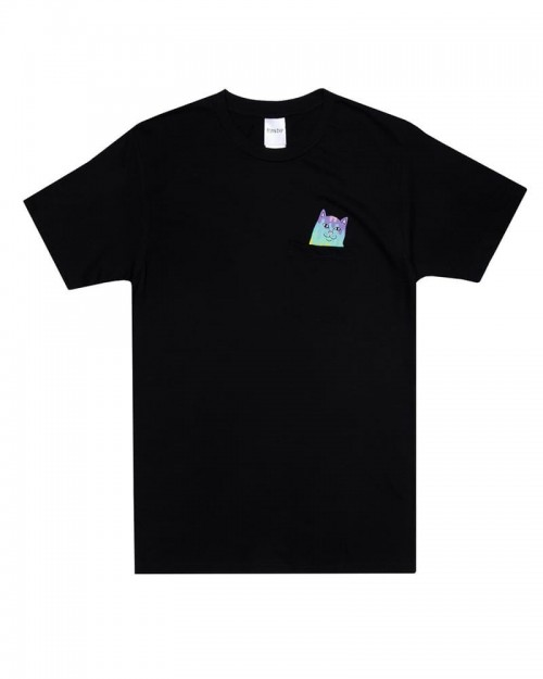 RIPNDIP Rainbow Nerm Pocket Tee