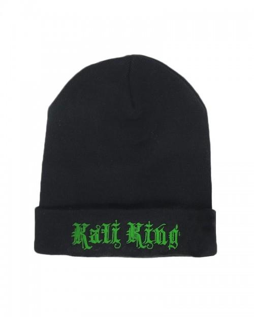 Kali King Black and Green Beanie