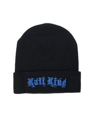 Kali King Black and Blue Beanie