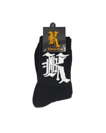 Kali King Calze Logo Black and White
