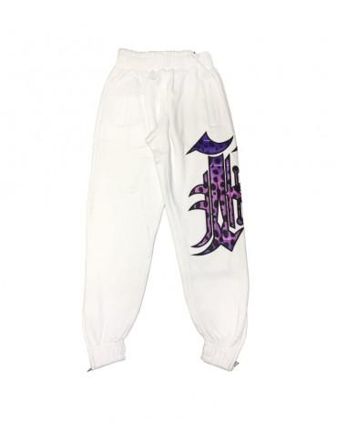 Kali King Tuta Gheopard White and Purple