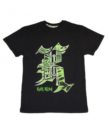 Kali King Tiger Black Green Tee
