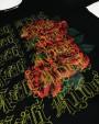 Kali King Rose Black Tee New