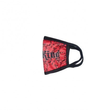 Kali King Mascherina Camo Red