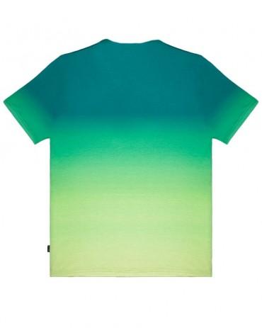 DOLLY NOIRE Maglietta Gradient Logo Green
