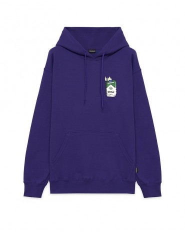 PROPAGANDA Weed Hoodie Purple