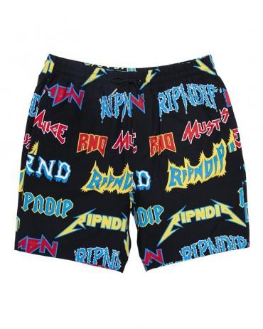 RIPNDIPRock & Nerm Swim Shorts Black