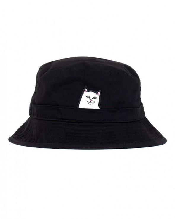 RIPNDIP Lord Nermal Bucket hat Black