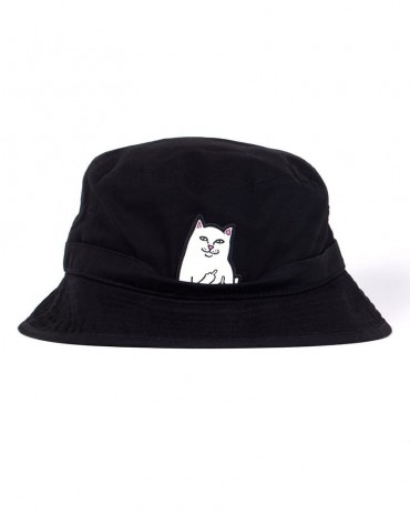 RIPNDIP Lord Nermal Bucket hat Black