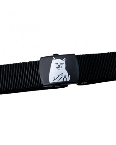 RIPNDIP Lord Nermal Web Belt Black