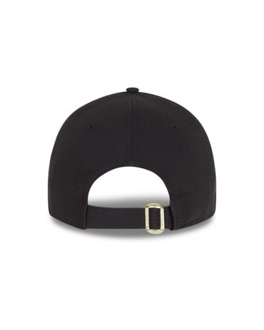 NEW ERA 9FORTY LA Dodgers Black Metallic Logo