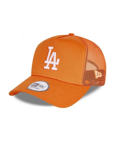 NEW ERA 9FORTY LA Dodgers Trucker Orange