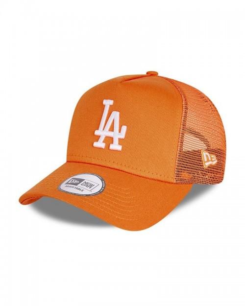 NEW ERA 9FORTY LA Dodgers Trucker Orange