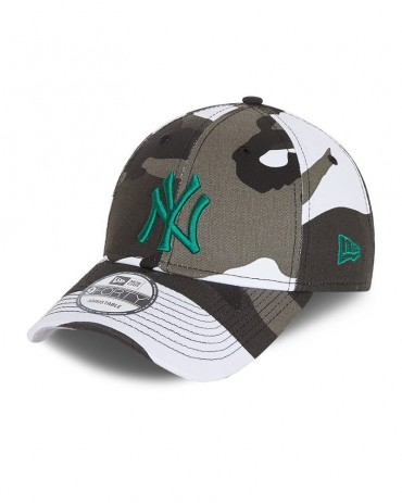 NEW ERA 9FORTY Youth New York Yankees All Over Camo Print
