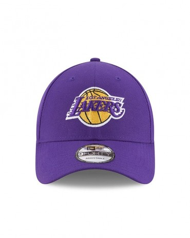 NEW ERA 9FORTY Los Angeles Lakers Purple The League